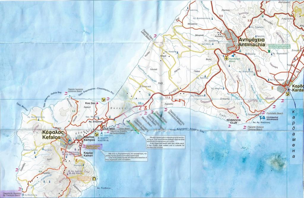 карта пляжи