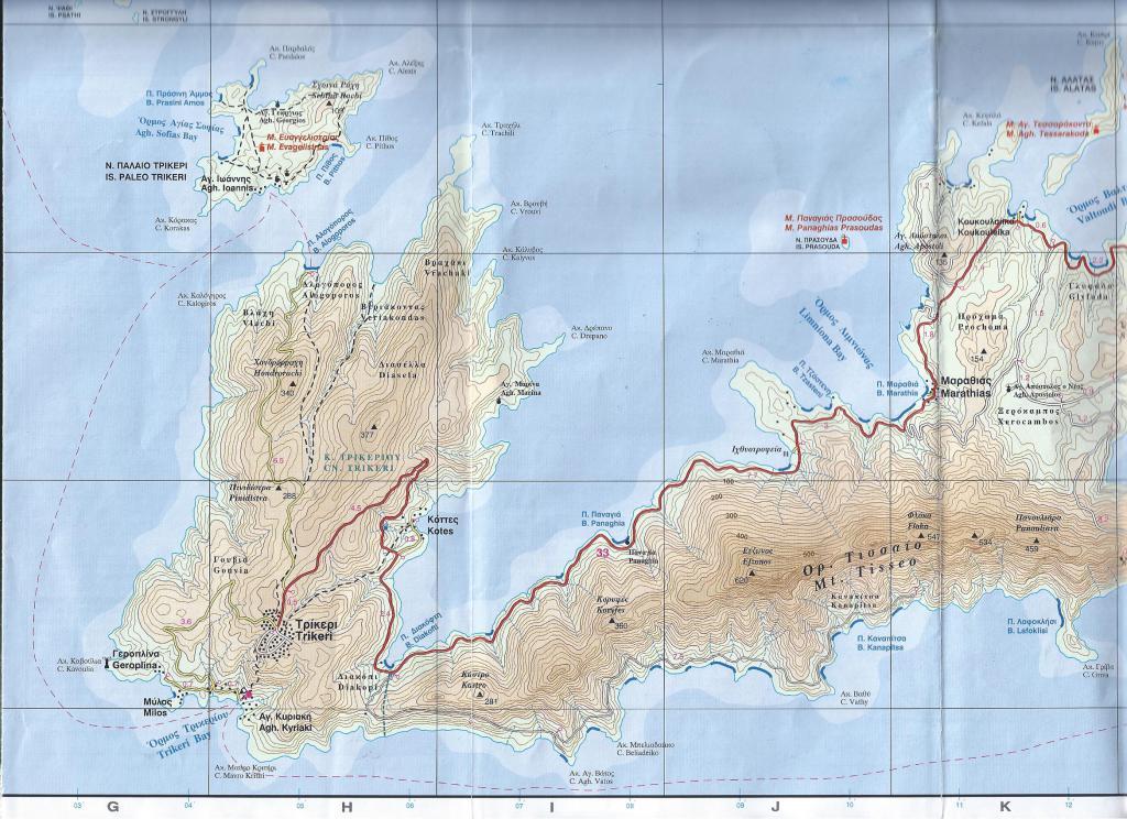 карта Трикери