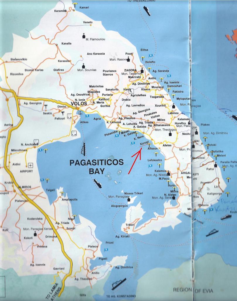 карта коропи